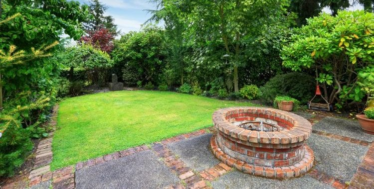 What can I plant around a fire pit?