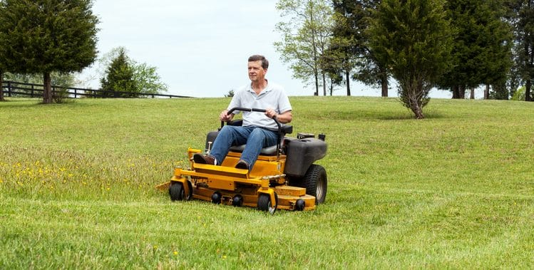 Are lawn mowers covered on home insurance?