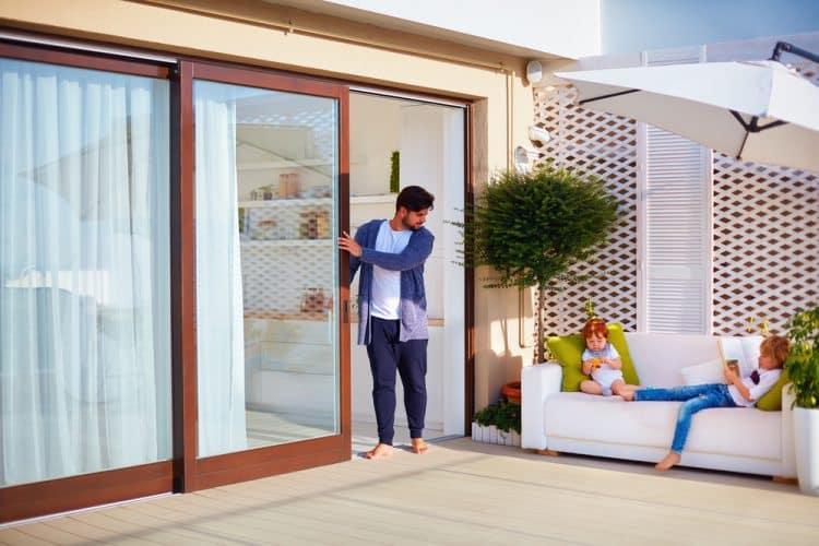 Do patio doors warp in the sun?