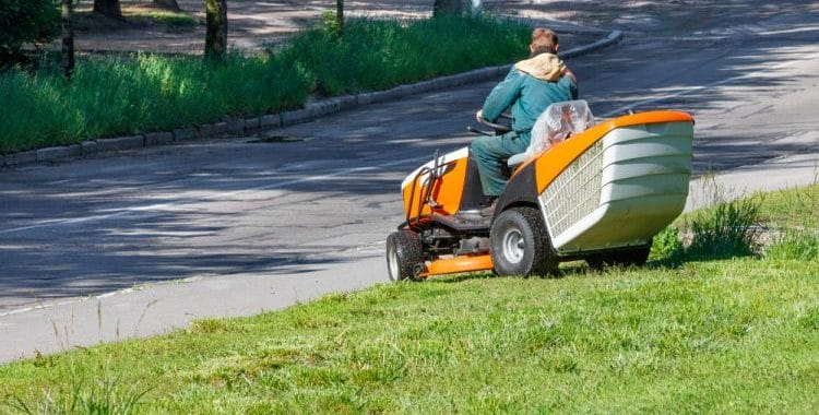 Are lawn mowers street legal?
