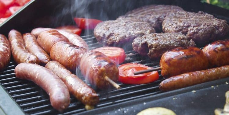 When should you put food on the BBQ?