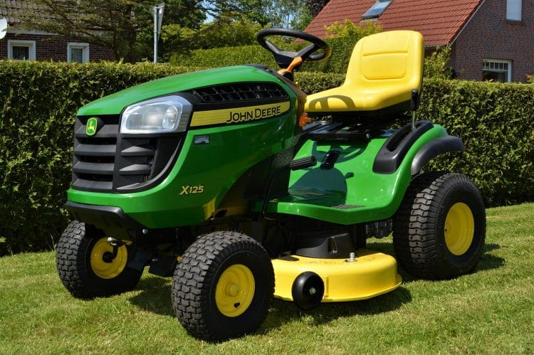 Lawn mower on home insurance