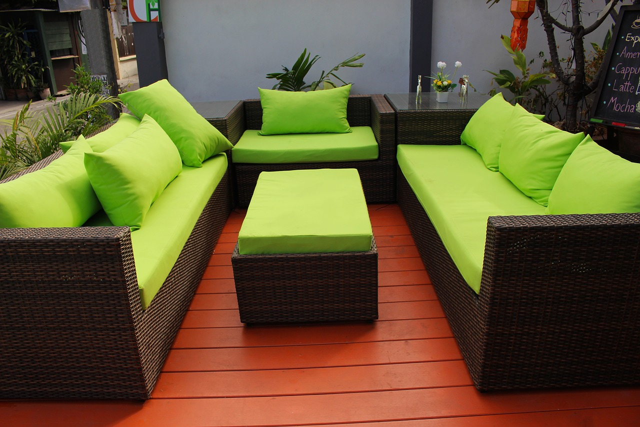 water resistant patio furniture cushions