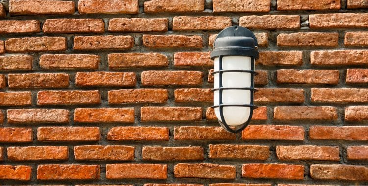 Do Outdoor Wall Lights Have To Be Earthed?