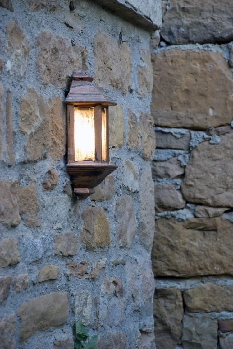 Waterproofing outdoor lights