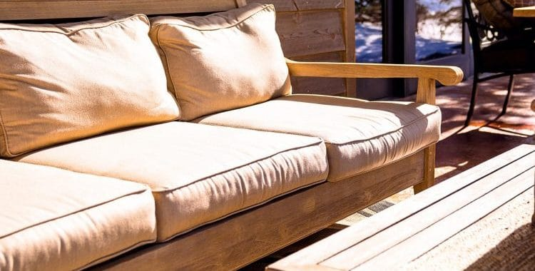 What Are Outdoor Cushions Filled With?
