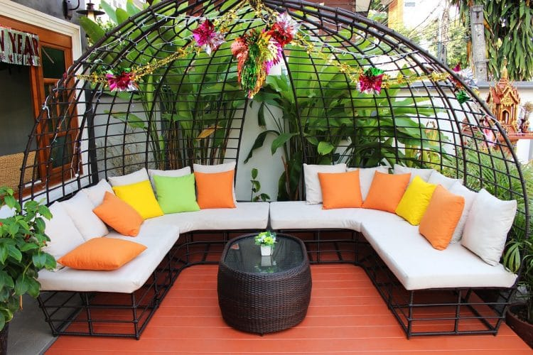 Outdoor living definition
