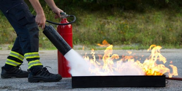 Can Fire Extinguishers Be Kept Outside?