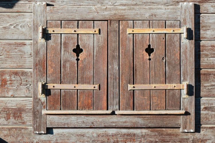 Storage Shed Shutters
