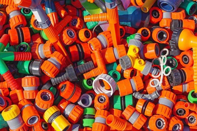 Garden hose connectors