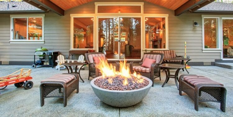 What Should I Sit My Fire Pit On?