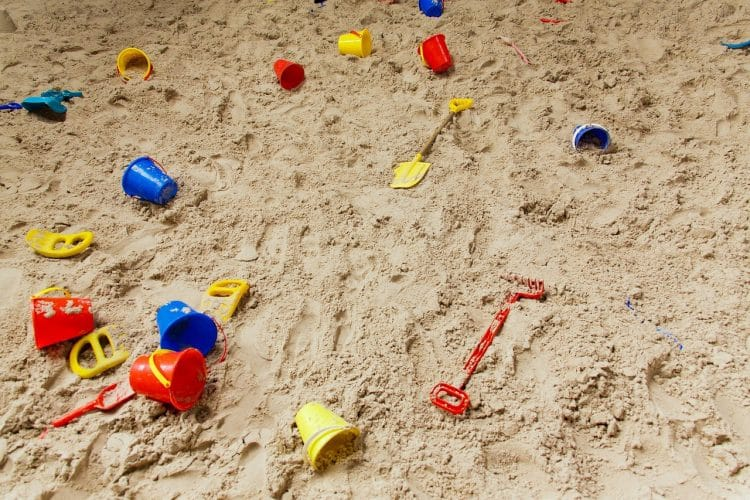 Which sand pit sand?