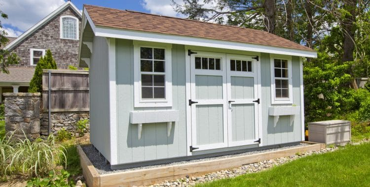 Can You Live in a Shed On Your Own Property?