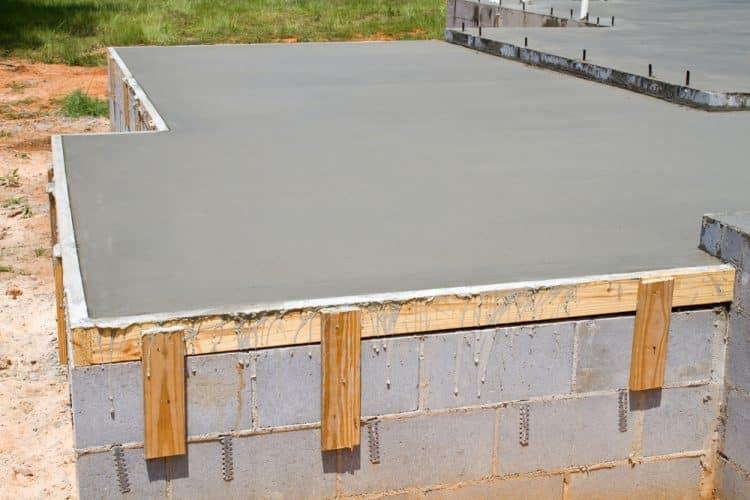 Curing Concrete Slab