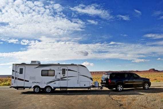 Can I Park Our Travel Trailer in My Driveway?