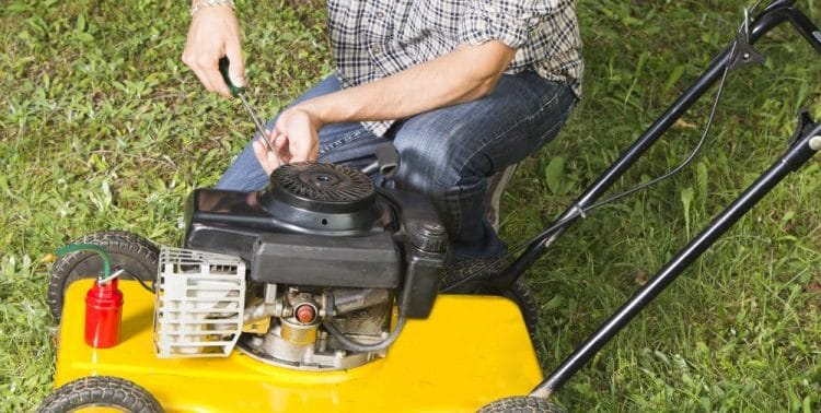 Winterizing a Lawn Mower