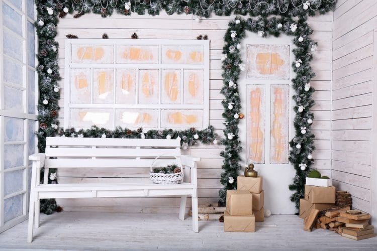 Christmas outdoor furniture