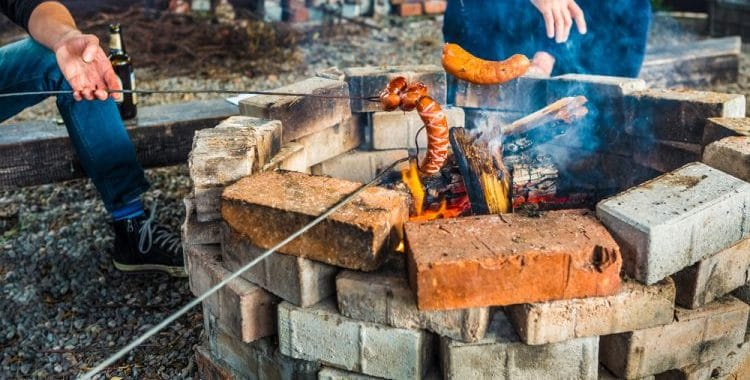 Are Cinder Blocks Good For Fire Pits?